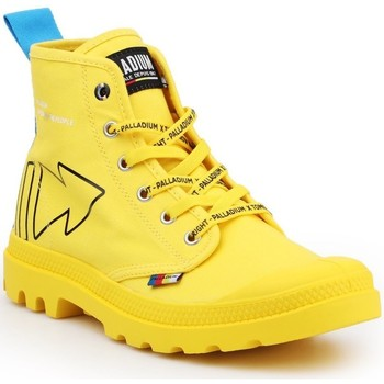Sapatos Botas baixas Palladium Manufacture Pampa Dare REW FWD 76862-709-M yellow