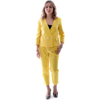 Textil Mulher Fatos Fracomina FR20SP090 Amarelo