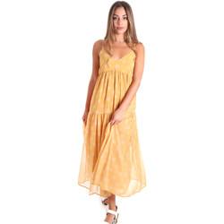 Textil Mulher Vestidos compridos Fracomina FR20SMLINDA Amarelo