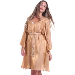 Textil Mulher Vestidos curtos Fracomina FR20SMELISABETH Ouro