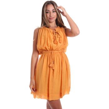 Textil Mulher Vestidos curtos Fracomina FR20SMANA Amarelo