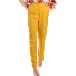 Textil Mulher Calças Fracomina FR20SM649 Amarelo