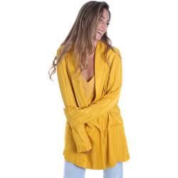 Textil Mulher Casacos/Blazers Fracomina FR20SM648 Amarelo