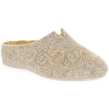 Sapatos Mulher Chinelos Emanuela 1527 GIALLO DOU Giallo