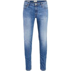 Textil Rapaz Calças de ganga slim Jack & Jones 12178281 JJILIAM JJORIGINAL AM 815 NOOS JR BLUE DENIM Azul