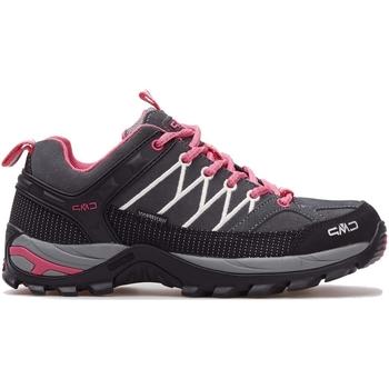 Sapatos Mulher Sapatilhas de corrida Cmp Rigel Wmn WP Cinzento, Cor-de-rosa, Grafite