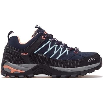 Sapatos Mulher Sapatilhas de corrida Cmp Rigel Wmn WP Preto, Cinzento, Azul marinho