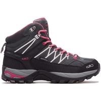 Sapatos Mulher Sapatilhas de cano-alto Cmp Rigel Mid Wmn WP Cinzento, Cor-de-rosa, Grafite