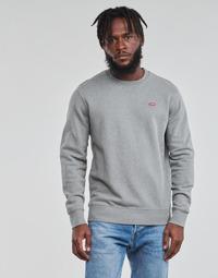 Textil Homem Sweats Levi's NEW ORIGINAL CREW Cinzento