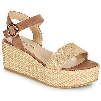 Sapatos Rapariga Sandálias JB Martin 1CORSO Castanho
