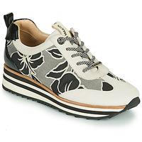 Sapatos Mulher Sapatilhas JB Martin 4CASSIE Cinza / Preto