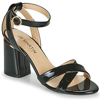 Sapatos Rapariga Sandálias JB Martin KIMOE Preto