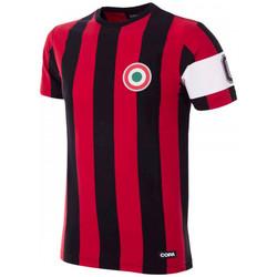 Textil T-Shirt mangas curtas Copa Milan Capitano T-Shirt Black;Red