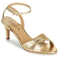 Sapatos Mulher Sandálias JB Martin POETIE Ouro