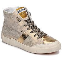 Sapatos Mulher Sapatilhas de cano-alto Meline NK1384 Ouro
