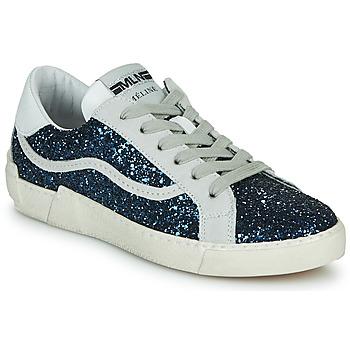 Sapatos Mulher Sapatilhas Meline NKC1395 Marinho