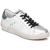 Sapatos Mulher Sapatilhas Meline NKC1392 Branco / Verde