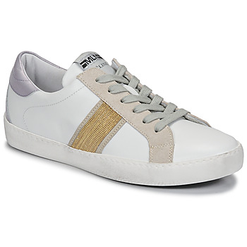 Sapatos Mulher Sapatilhas Meline KUC1414 Branco / Ouro