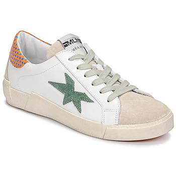 Sapatos Mulher Sapatilhas Meline NK1364 Branco / Verde