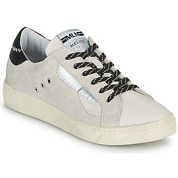 Sapatos Mulher Sapatilhas Meline CAR139 Bege / Preto