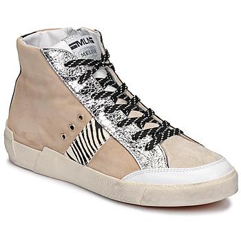 Sapatos Mulher Sapatilhas Meline NK1384 Bege / Zebra