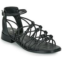 Sapatos Mulher Sandálias The Divine Factory LS1793H Preto