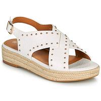 Sapatos Mulher Sandálias The Divine Factory LS1802J Branco