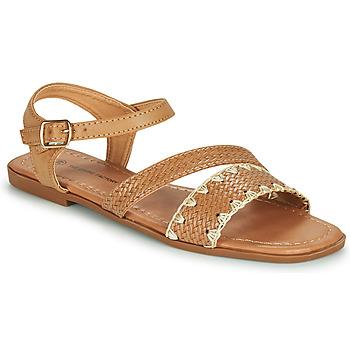 Sapatos Mulher Sandálias The Divine Factory TX4339 Camel