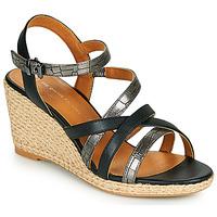 Sapatos Mulher Sandálias The Divine Factory QL4354 Preto