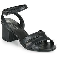 Sapatos Mulher Sandálias The Divine Factory LS2115 Preto