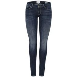 Textil Mulher Gangas Skinny Only ONLCAROL LOW 15182381 Azul