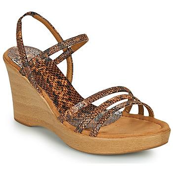 Sapatos Mulher Sandálias Unisa RENERA Castanho