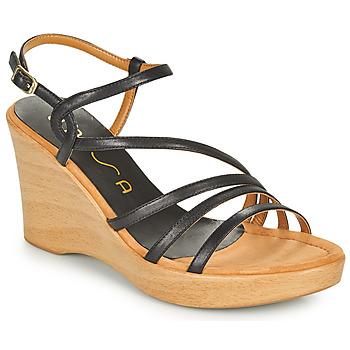 Sapatos Mulher Sandálias Unisa RABAL Preto