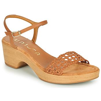 Sapatos Mulher Sandálias Unisa ILOBI Camel
