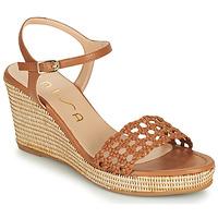 Sapatos Mulher Sandálias Unisa LOBI Camel