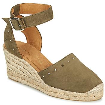 Sapatos Mulher Sandálias Unisa CLIVERS Cáqui