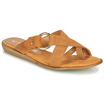 Sapatos Mulher Chinelos Unisa ADRIEL Camel