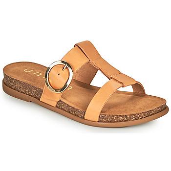 Sapatos Mulher Chinelos Unisa CIVETA Camel