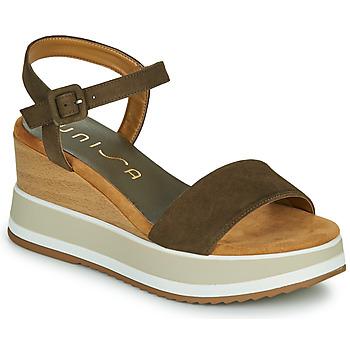 Sapatos Mulher Sandálias Unisa KOLLA Cáqui