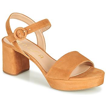 Sapatos Mulher Sandálias Unisa NENES Camel