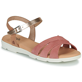 Sapatos Rapariga Sandálias Citrouille et Compagnie OBILOU Rosa