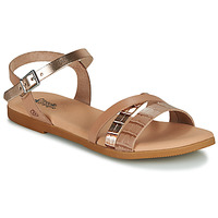 Sapatos Rapariga Sandálias Citrouille et Compagnie OBINOU Ouro
