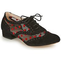 Sapatos Mulher Richelieu Fericelli ABIAJE Preto / Vermelho