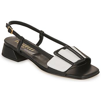 Sapatos Mulher Sandálias Fericelli PANILA Preto / Branco