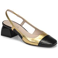 Sapatos Mulher Escarpim Fericelli TOUBET Ouro / Preto