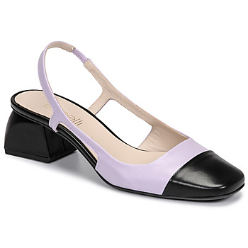 Sapatos Mulher Escarpim Fericelli TOUBET Violeta / Preto