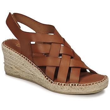 Sapatos Mulher Sandálias Fericelli ODALUMY Camel