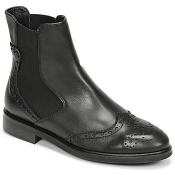 Sapatos Mulher Botas baixas Fericelli CRISTAL Preto