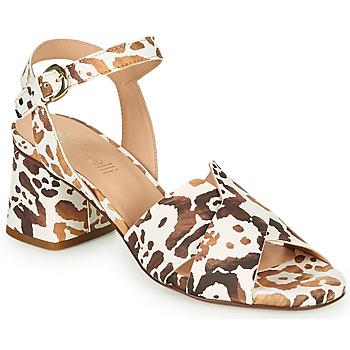 Sapatos Mulher Sandálias Fericelli ONAPA Bege / Ouro
