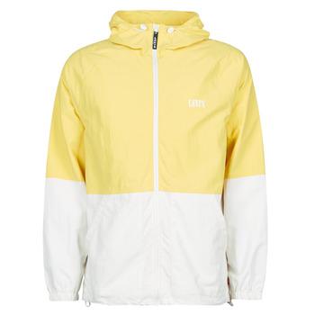 Textil Homem Corta vento Levi's DUSKY CITRON Amarelo